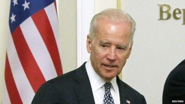 Joe Biden in Ukraine