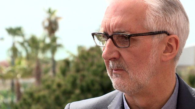 President of the International Cycling Union Brian Cookson
