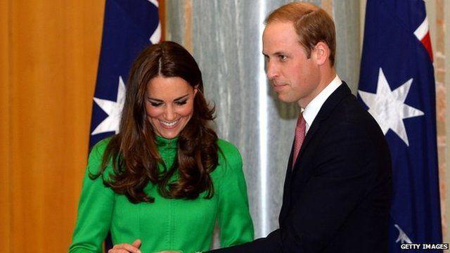 Catherine, Duchess of Cambridge and Prince William, Duke of Cambridge