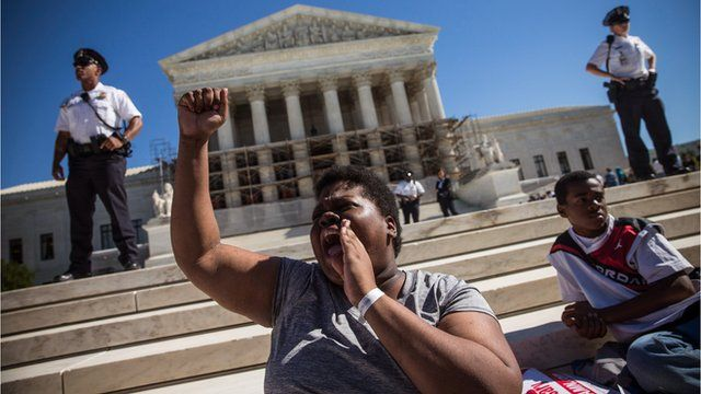 A support of affirmative action outside the US Supreme Court