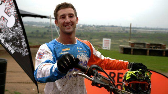 Motocross rider Tyron Miller