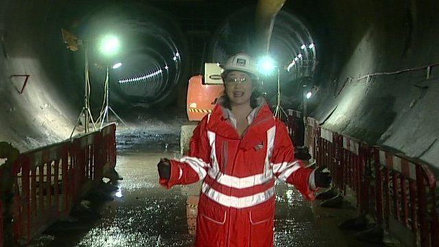 Crossrail tunnels