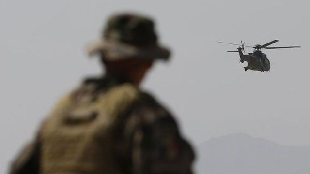Isaf helicopter, file image from August 12, 2012