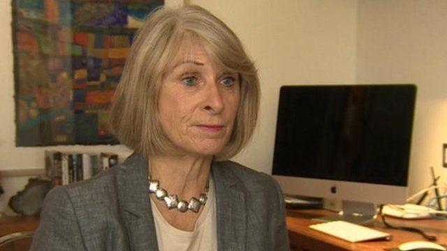 Former board member Christine Lewis