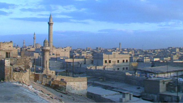 view of Aleppo in 1990