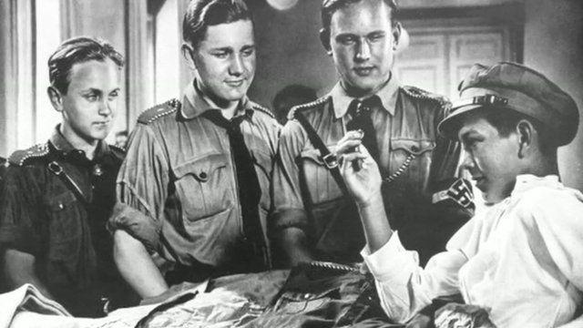 Still from Nazi propaganda film