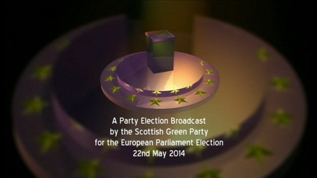 Scottish Green Party election broadcast