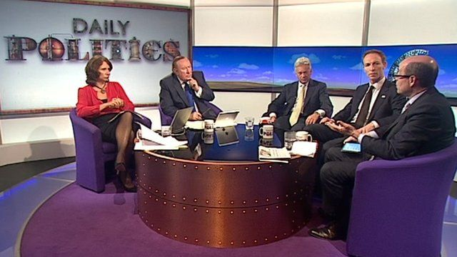 Jo Coburn, Andrew Neil, Alan Duncan, Jim Murphy and Nick Robinson