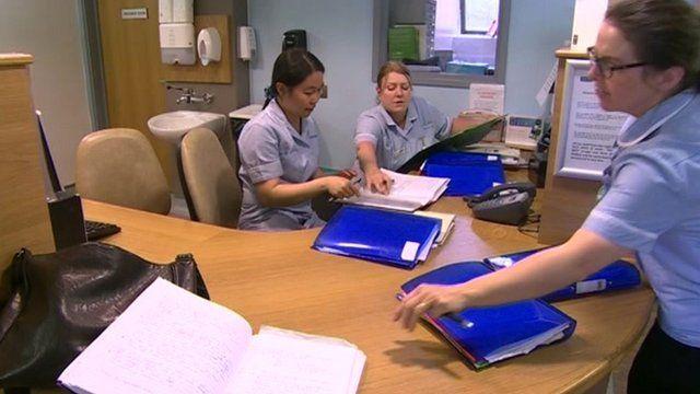 Hospice staff