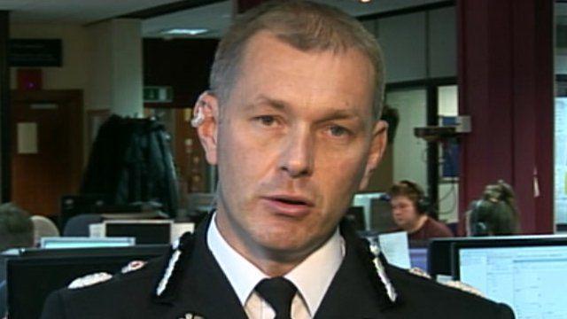 Gwent Police Chief Constable Jeff Farrar is head of crime statistics at ACPO