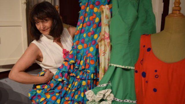 Dressmaker Marta
