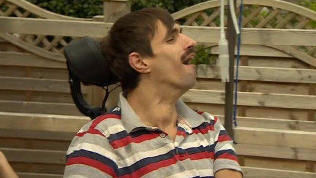 Cerebral palsy sufferer John Morrison
