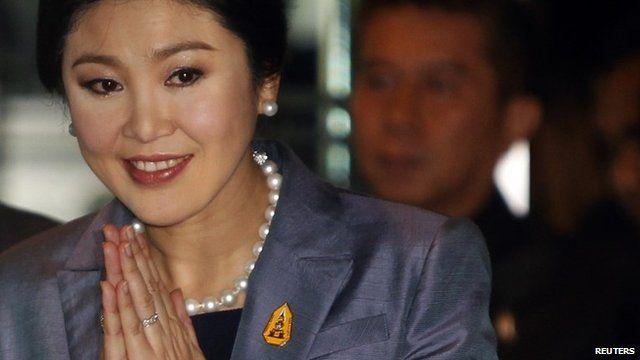 Thailand PM Yingluck Shinawatra