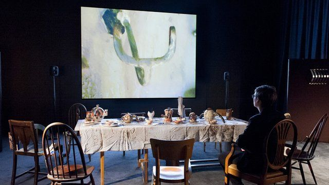 2013 Turner prize winner Laure Prouvost's 'Wantee'