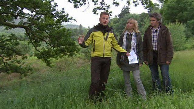 Springwatch team at Ynys-hir