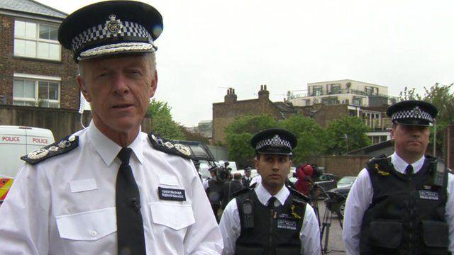 Metropolitan Police Commissioner Sir Bernard Hogan Howe