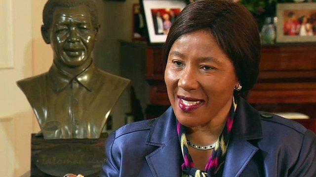 Makaziwe Mandela, daughter of Nelson Mandela
