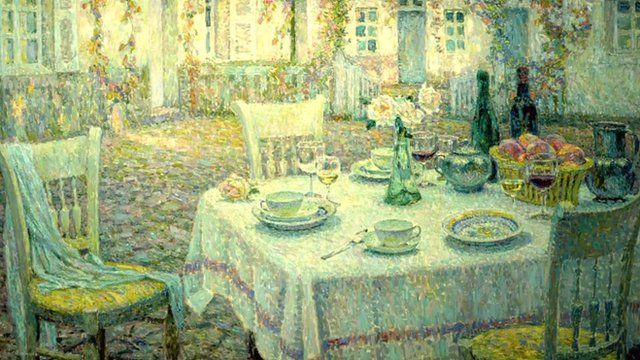 Painting by Henri Le Sidaner
