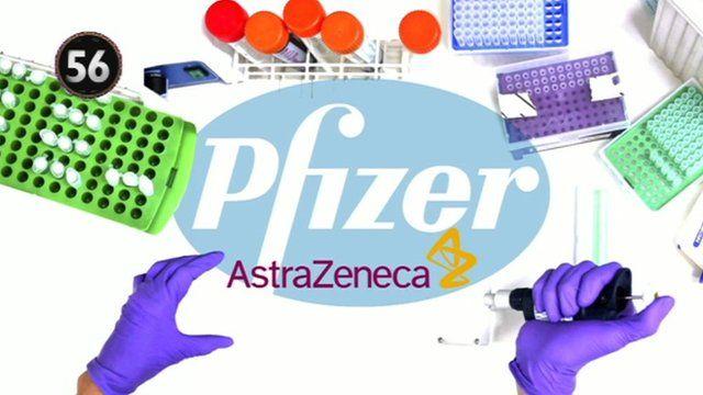 Pfizer AstraZeneca graphic