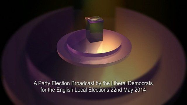 Party election graphic