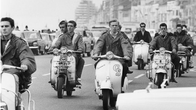 Mods and Rockers: Brighton beach clashes remembered - BBC News