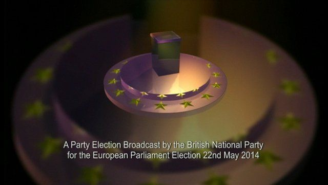 British National Party election broadcast