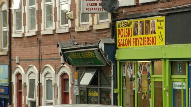 Polish shops in Nottingham