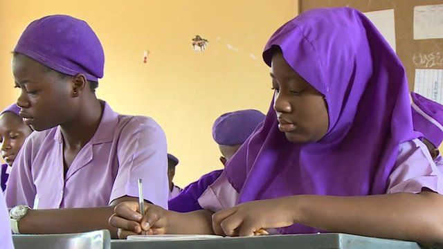 Schoolgirls in Abuja