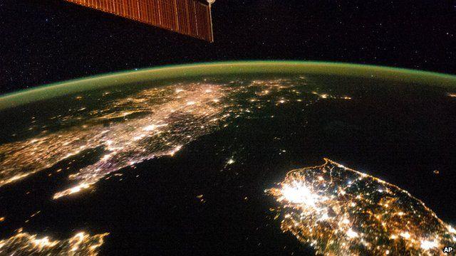 A file photo (January 2013) of the Earth