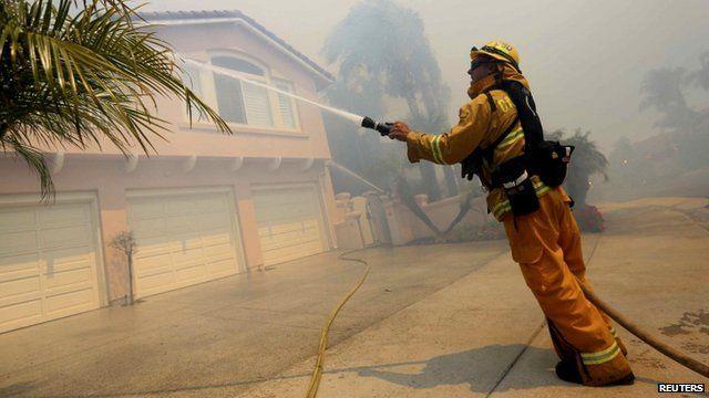 Firefighter in Carlsbad