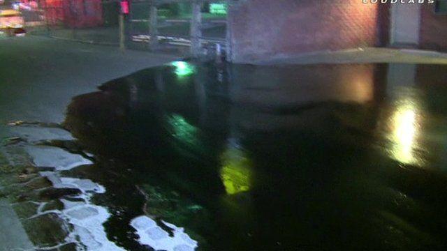 Oil spill damage