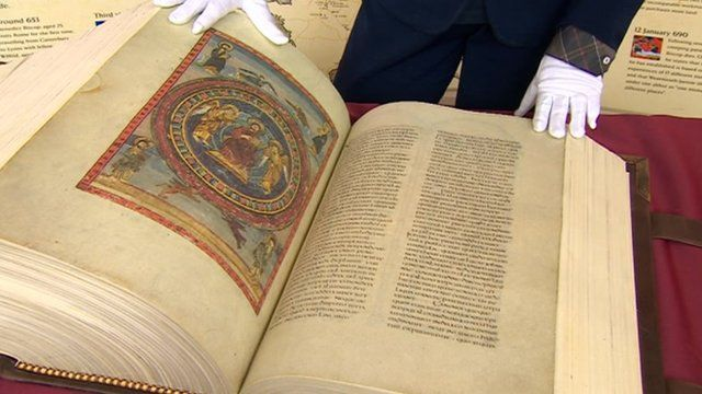 Codex Amiatinus Bible