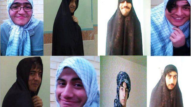 Men in hijab