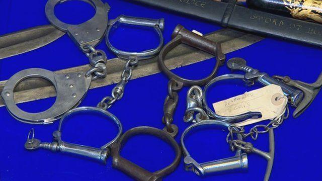 Historic handcuffs