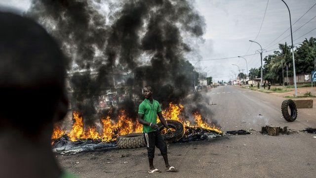 Protests in Bangui