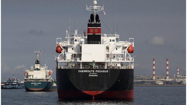 Oil tanker Singapore
