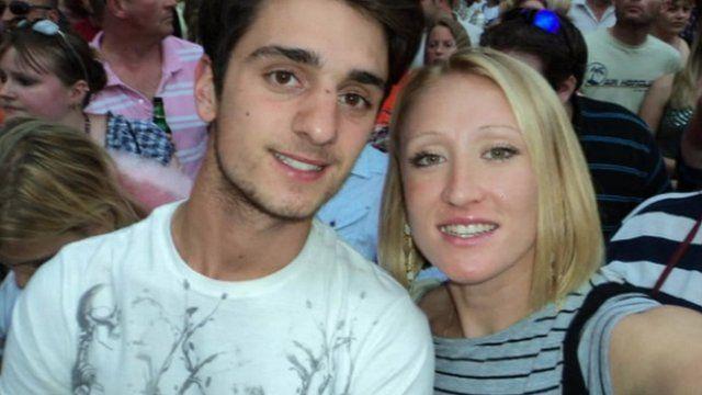 Josh Sheppard and Elena Baltacha