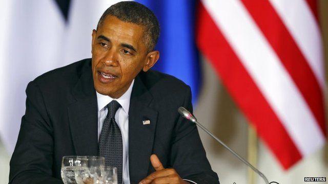 President Obama in Warsaw, 3 Jun 2014