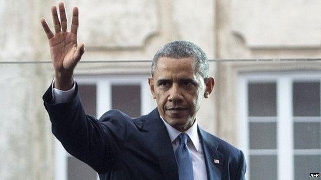 Barack Obama in Poland