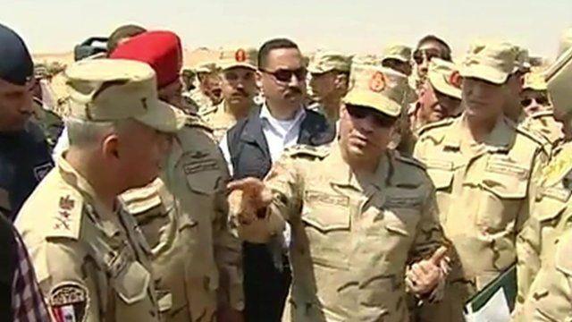 President Abdel Fattah Al Sis