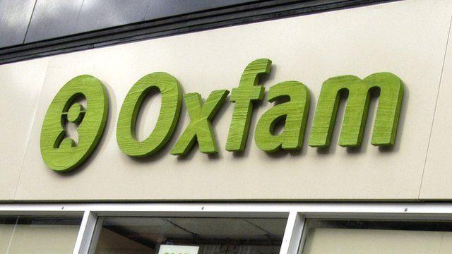 Oxfam shop front