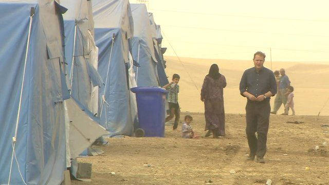 Paul Wood meets refugees who fled Mosul