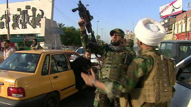 Shia militia members