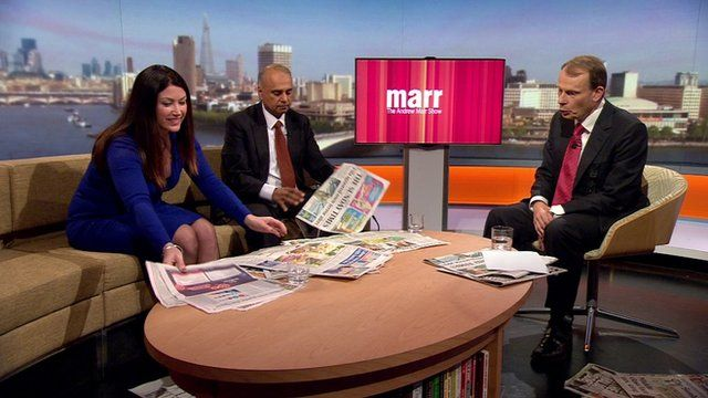 Andrew Marr reviews the Sunday newspapers with Victoria Newton and Azfal Ashraf