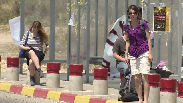 Hitchhikers near Hebron