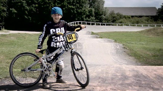 Zailan Johnson from Patchway is the BMX champion of the South West