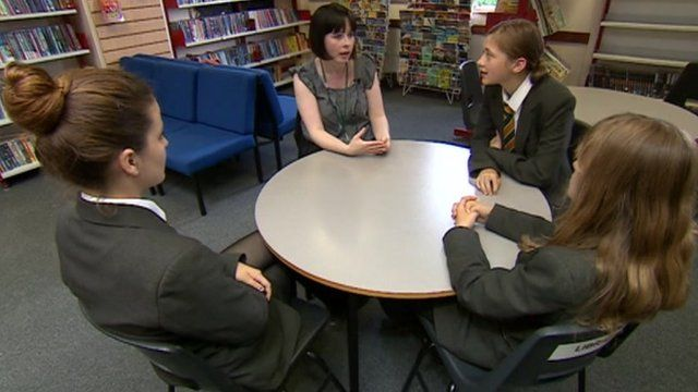 Student volunteers help the perpetrator and victim come together to resolve the dispute