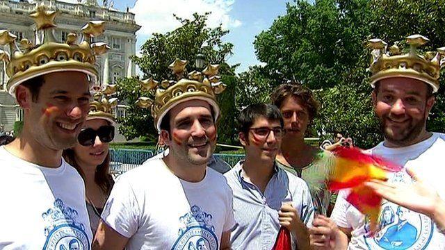King fans