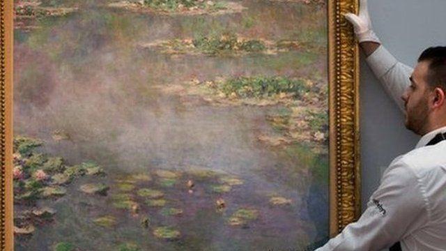 Nympheas by Monet