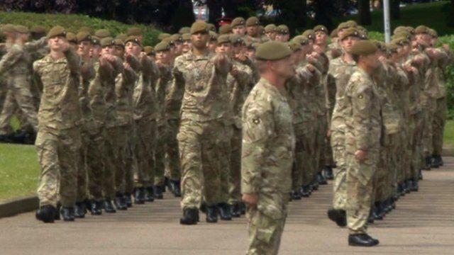 Royal Anglians 2nd Battalion